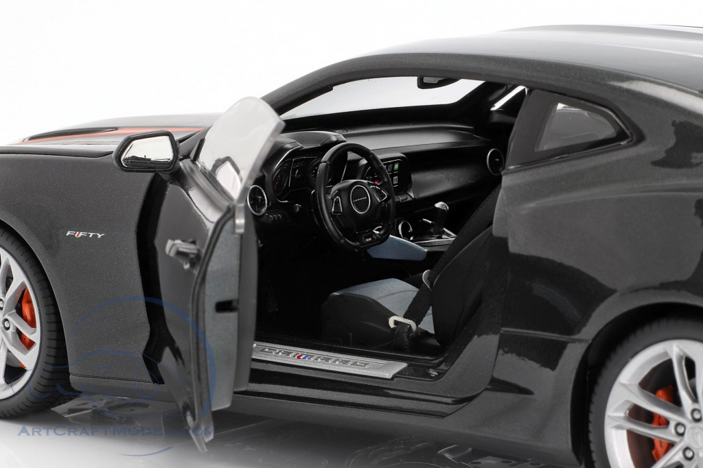 Chevrolet Camaro SS year 2017 grey metallic