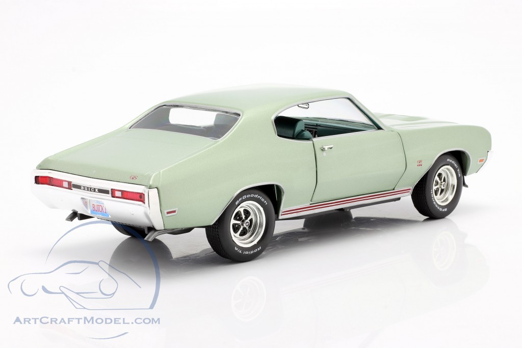 Buick Grand Sport 455 Hardtop year 1970 seamist green