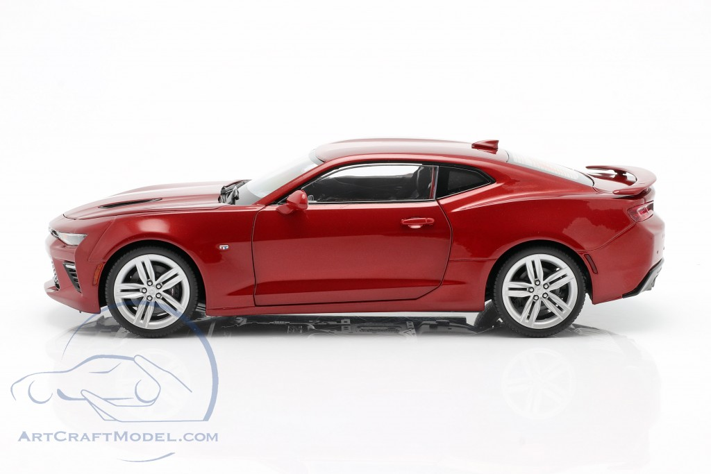 Chevrolet Camaro SS year 2016 red