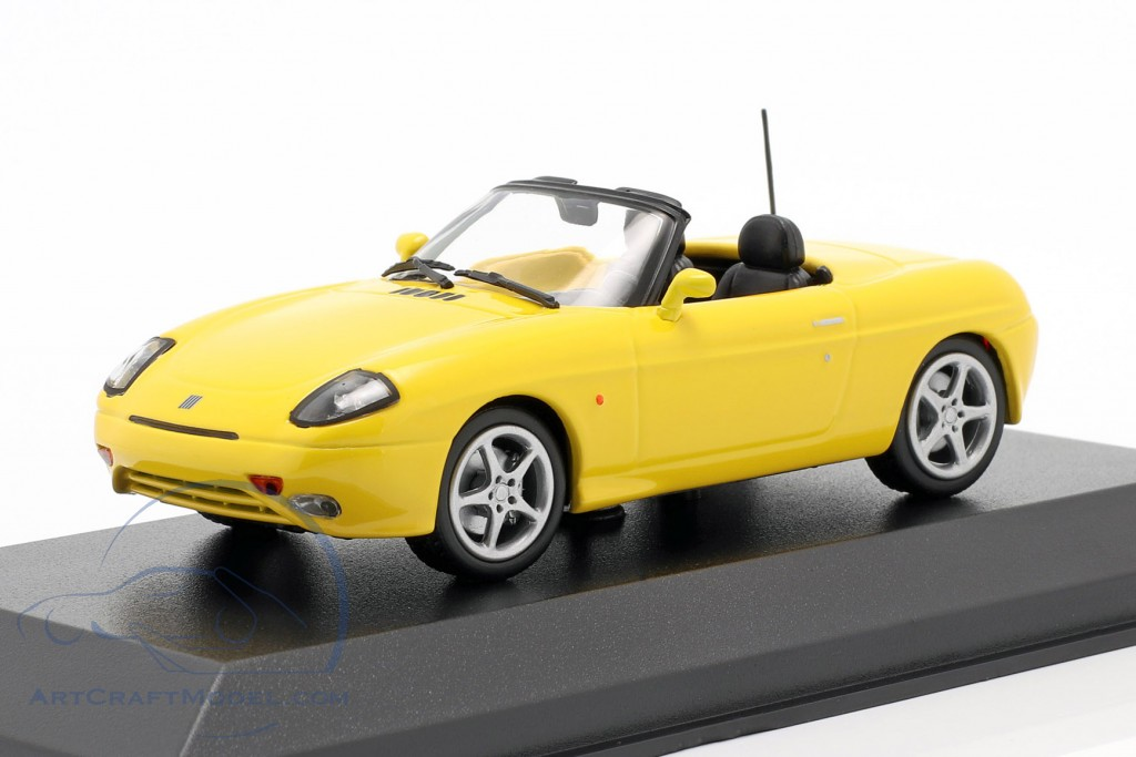 Fiat Barchetta year 1995 yellow