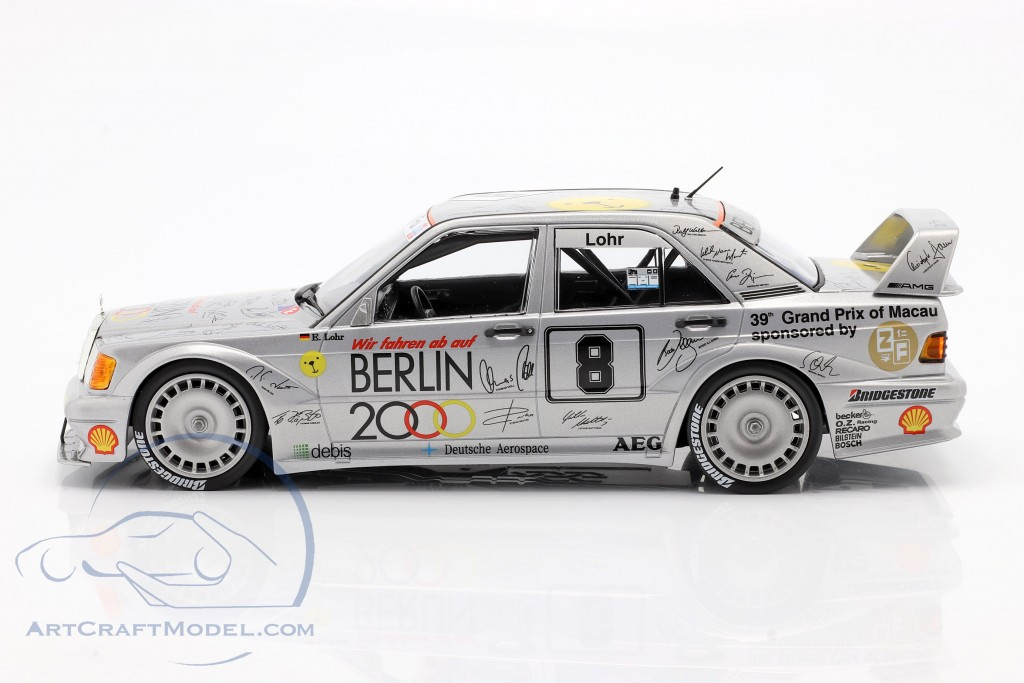 Mercedes-Benz 190E 2.5-16 Evo 2 #8 Macau Guia Race 1992 Lohr