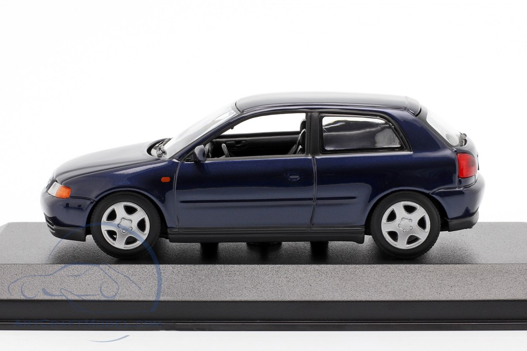 Audi A3 (8L) year 1996 blue metallic