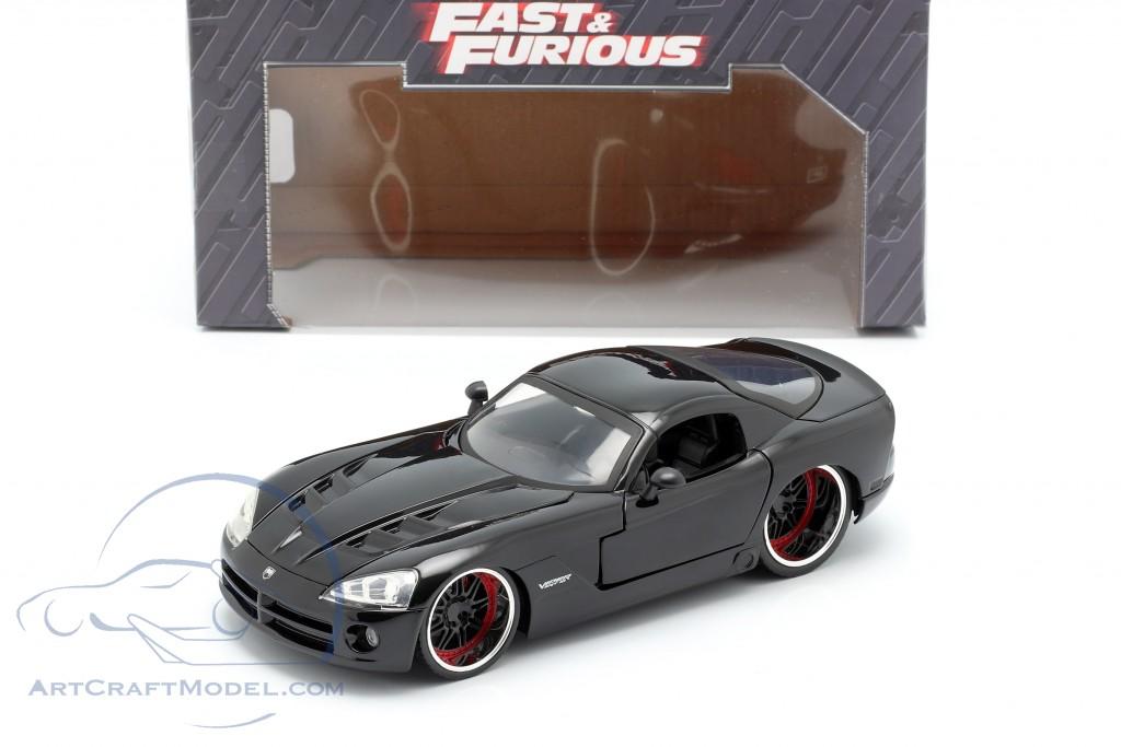 Dodge Viper SRT 10 Fast /& Furious Letty 1:24 jada Toys 30731