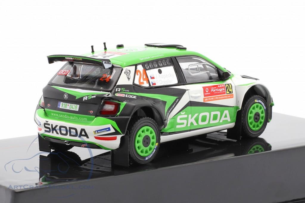 Skoda Fabia R5 Evo #24 8th Rallye Portugal 2019 Kopecky, Dresler