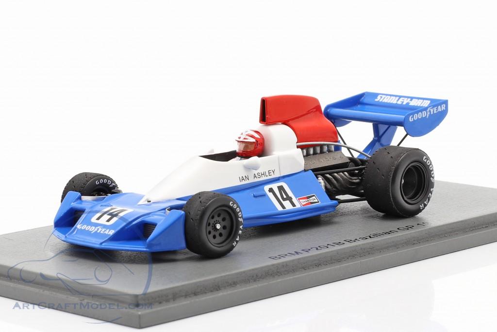 Ian Ashley BRM P201B #14 Brazilian GP formula 1 1976