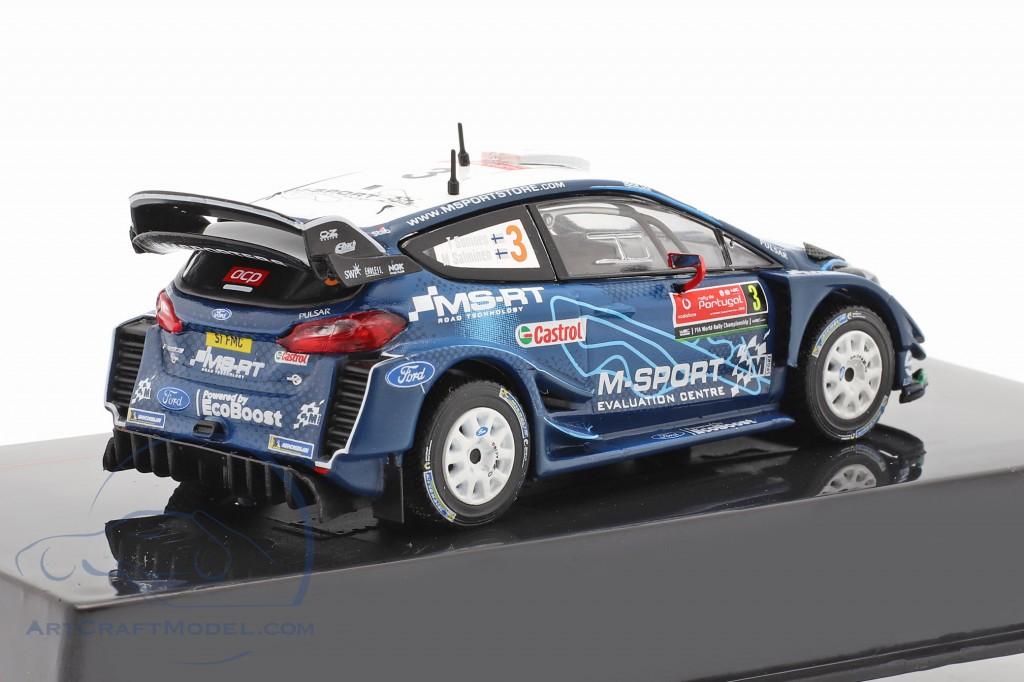 Ford Fiesta WRC #3 4th Rallye Portugal 2019 Suninen, Salminen