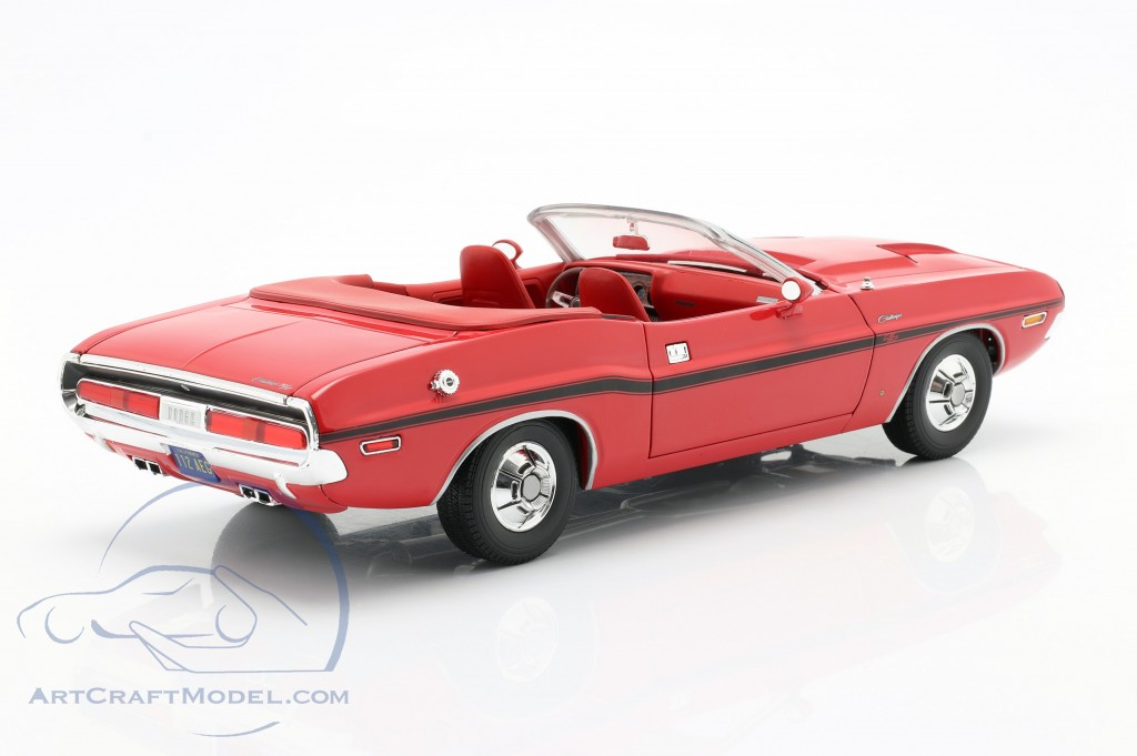 Dodge Challenger R/T 1970 TV series The Mod Squad (1968-1973) red