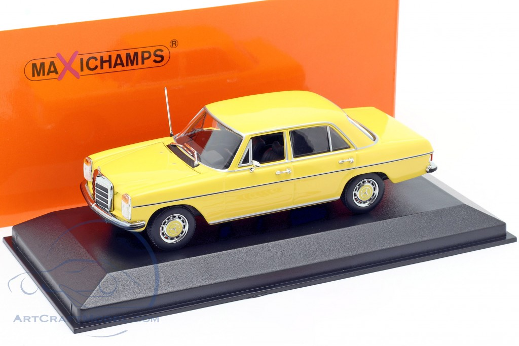 Mercedes-Benz 200 (W114/115) year 1968 yellow