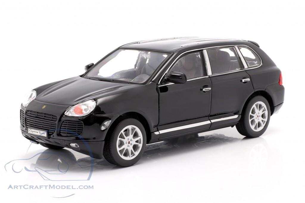 Porsche Cayenne Turbo year 2002 black