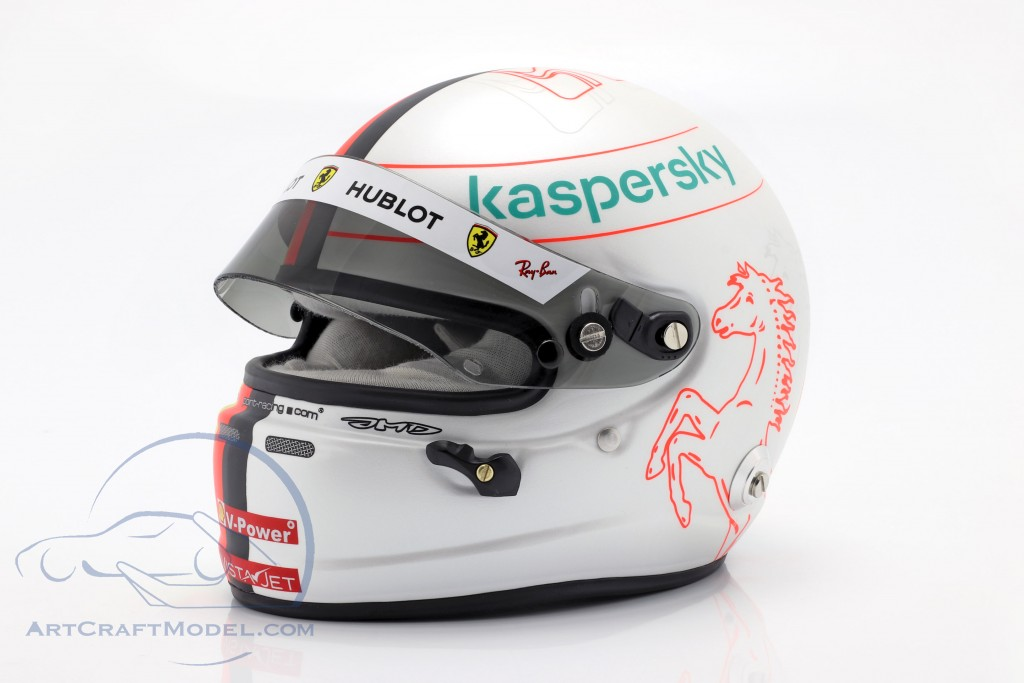 Sebastian Vettel #5 Scuderia Ferrari formula 1 2020 helmet