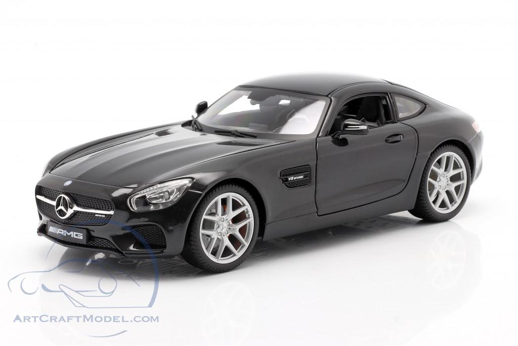 Mercedes-Benz AMG GT (C190) black metallic