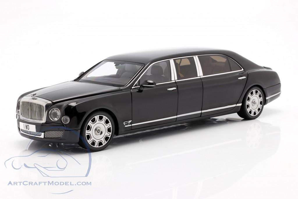 Bentley Mulsanne Grand Limousine by Mulliner 2017 onyx black