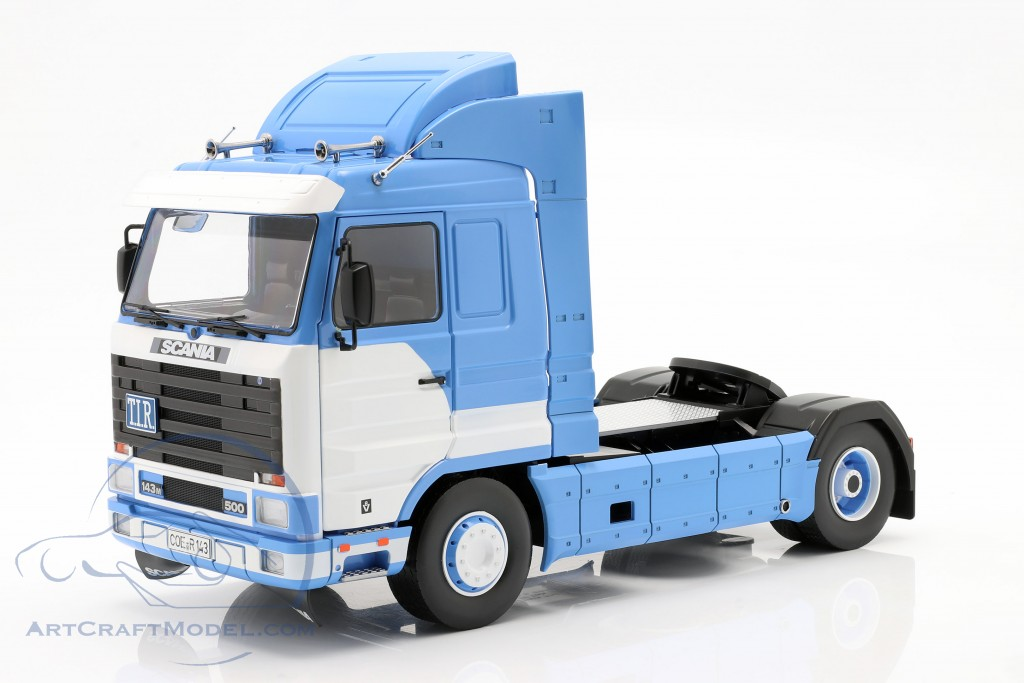 Scania 143 Streamline Truck year 1995 blue / white  Road Kings