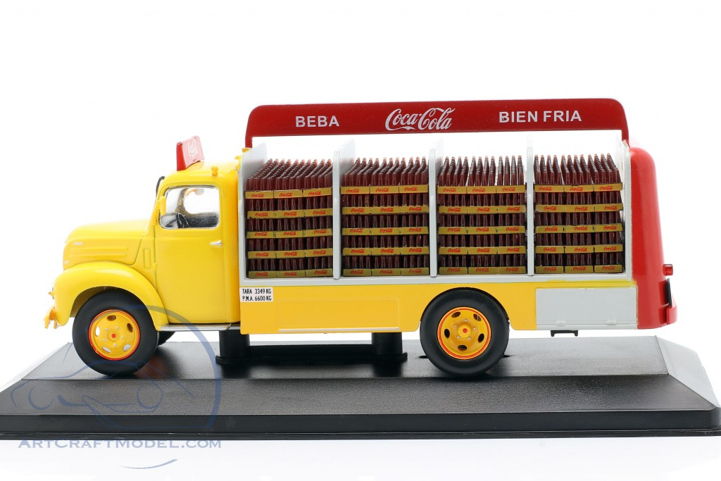Ebro B-45 Coca Cola 1962 1:43 IXO SALVAT DIECAST TRUCK