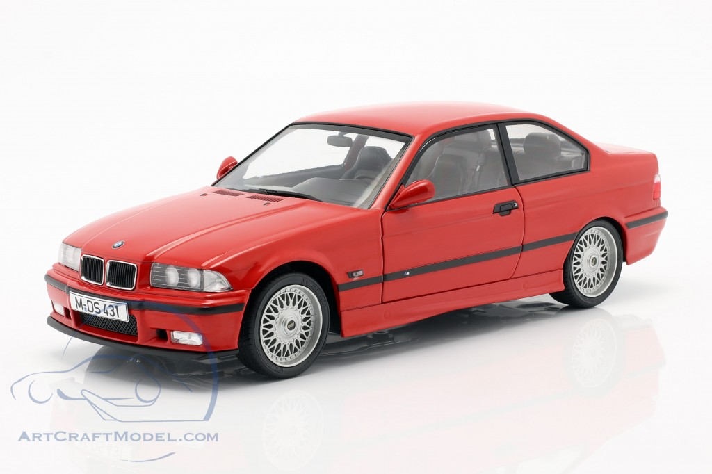 Bmw M3 E36 Coupe Year 1994 Red S1803904 Ean 3663506011184