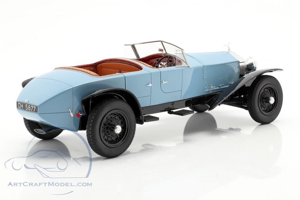 Rolls Royce Phantom Experimental Vehicle by Barker 1926 blue / black