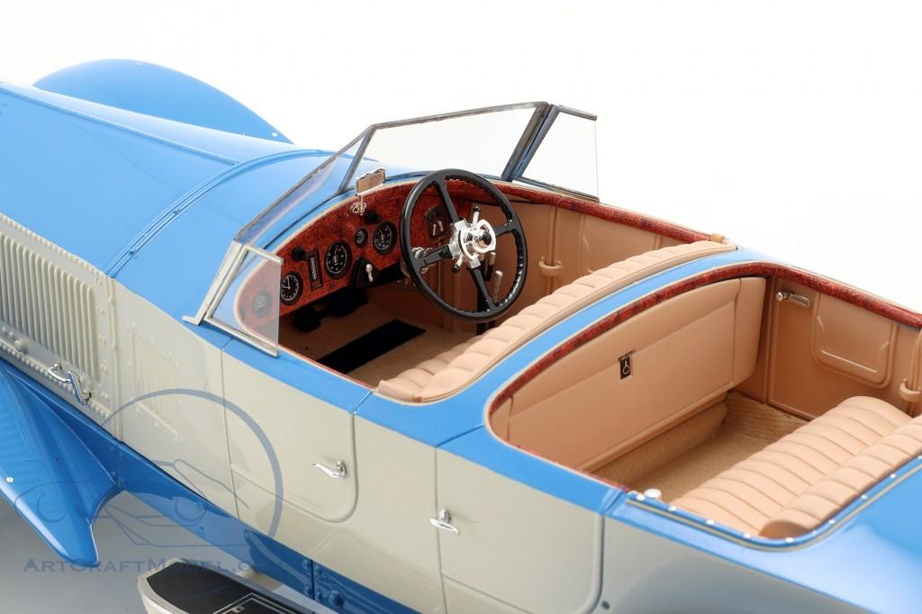 Rolls Royce Phantom Experimental Vehicle by Barker 1926 blue / beige