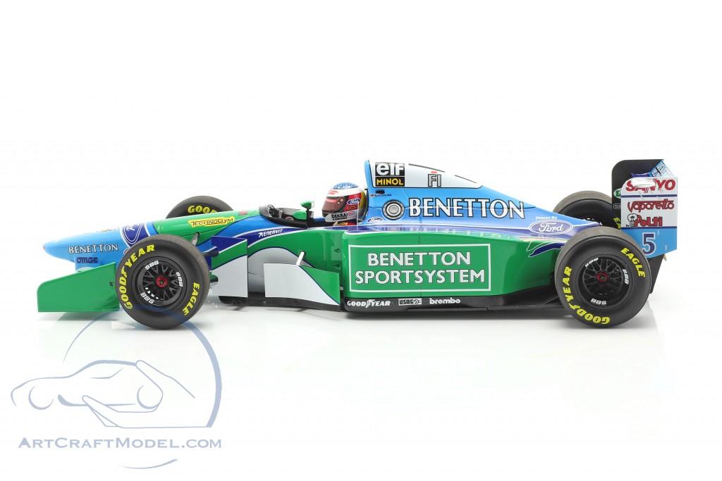 M. Schumacher Benetton B194 #5 France GP F1 World Champion 1994