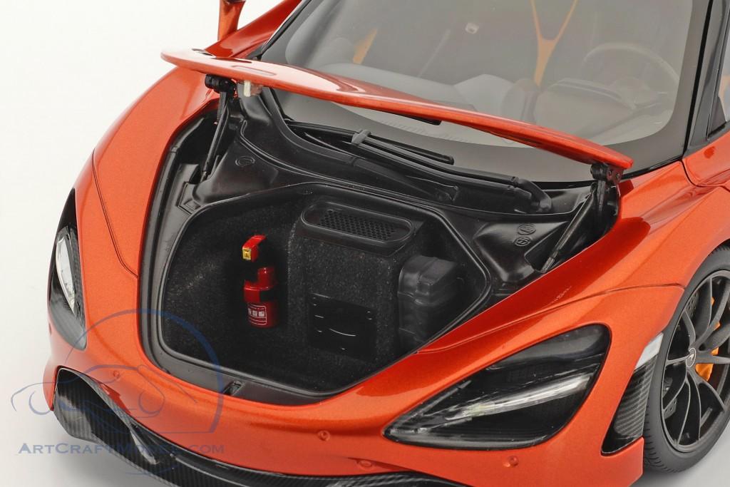 McLaren 720S year 2017 orange metallic