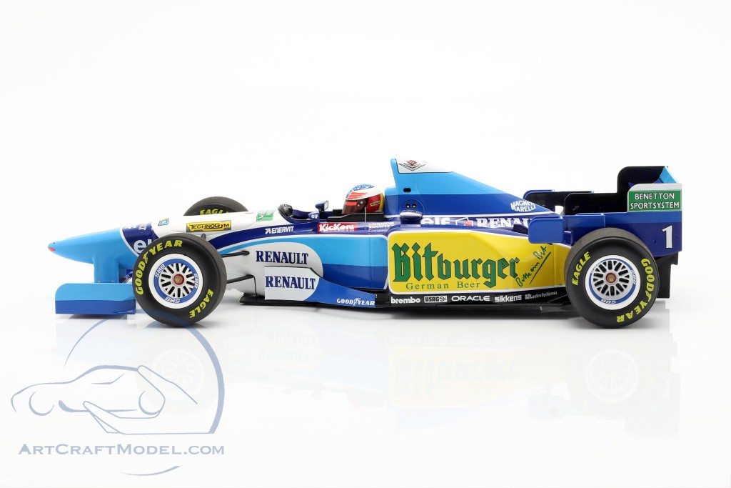 M. Schumacher Benetton B195 #1 Pacific GP F1 World Champion 1995