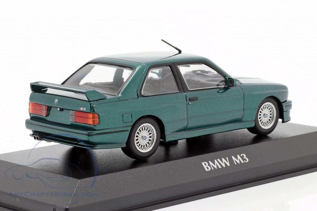 BMW M3 (E30) year 1987 dark green metallic