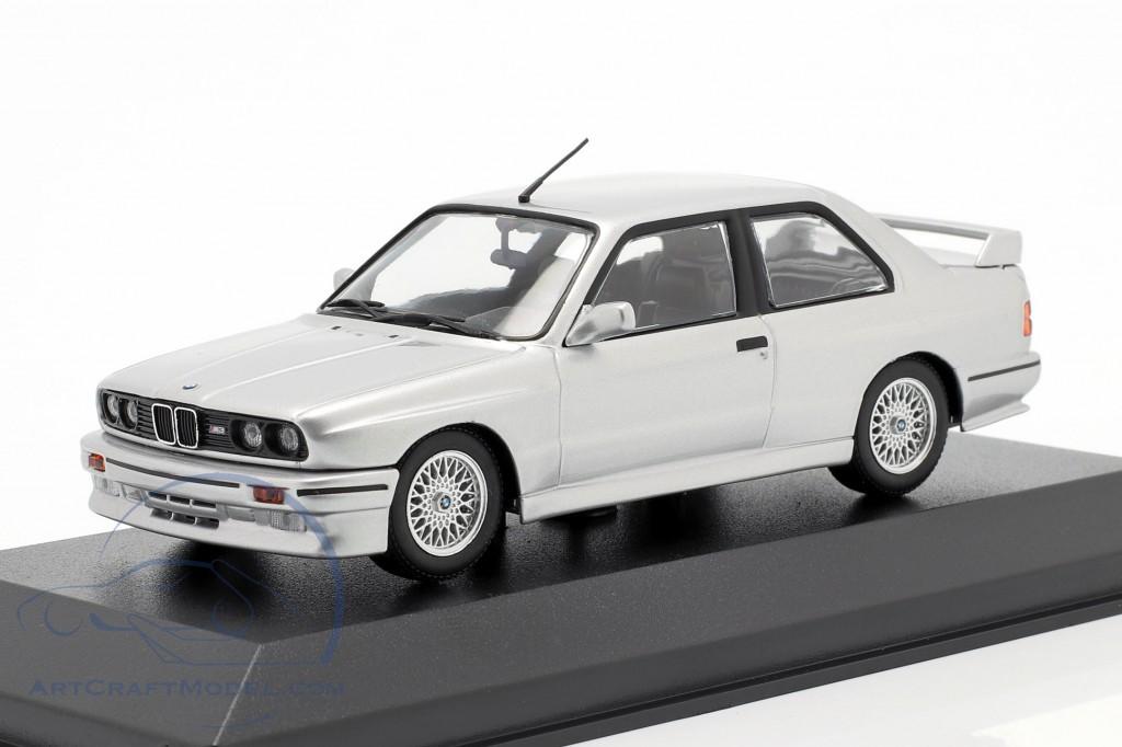 BMW M3 (E30) year 1987 silver metallic