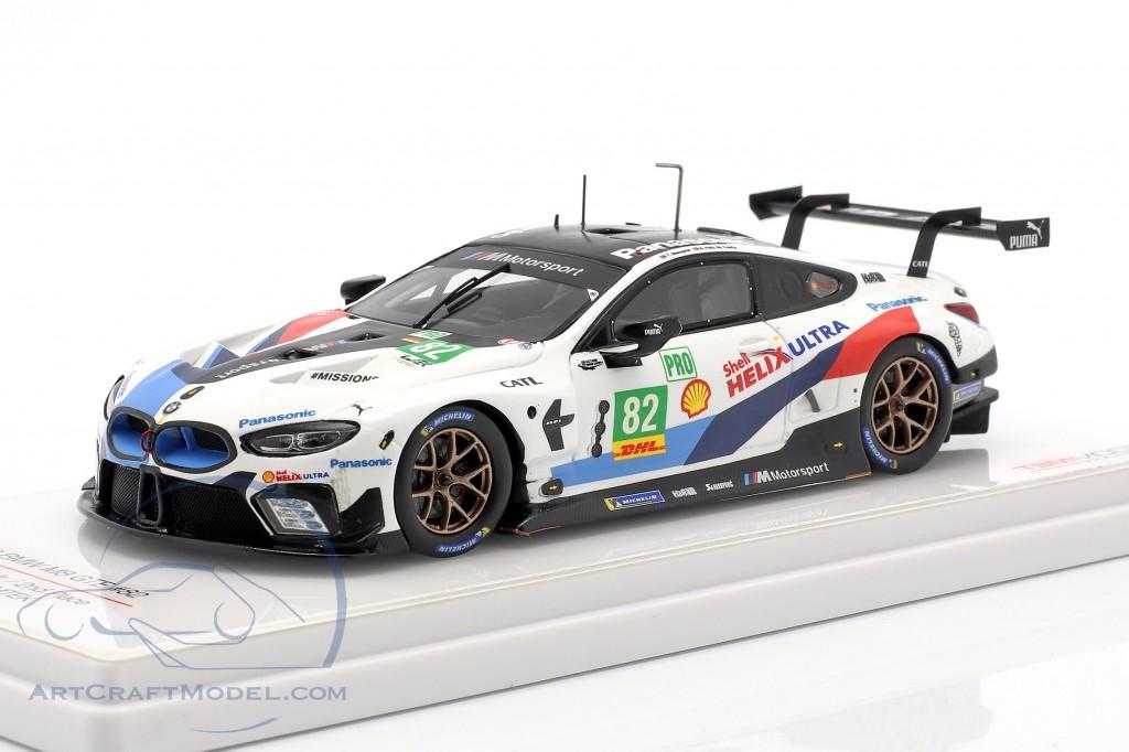BMW M8 GTE #82 2nd LMGTE Pro 6h Fuji WEC 2018 Blomqvist, da Costa