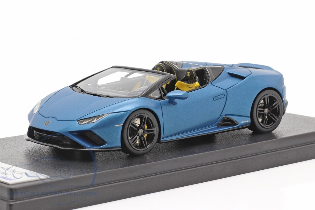 Lamborghini Huracan Evo RWD Spyder year 2019 mat blue metallic