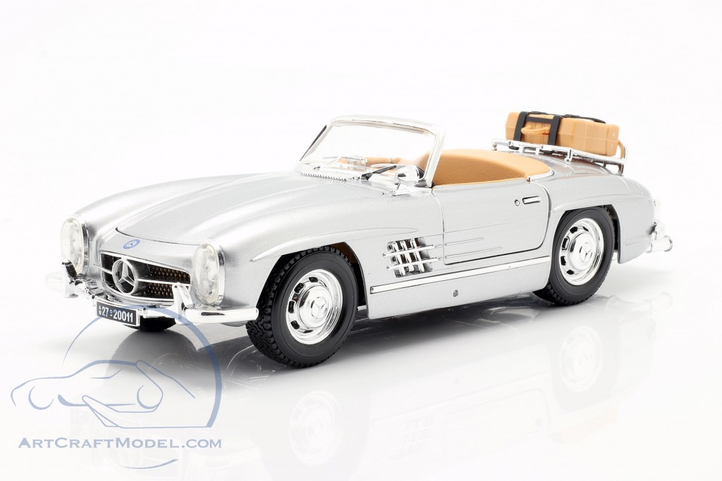 Mercedes-300 SL Touring Year 1957 silver