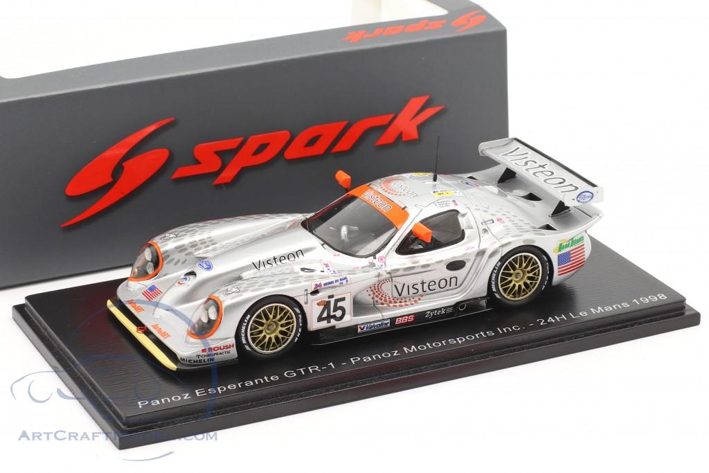 Spark 1:43 Vorbestellung 1998 Panoz Esperante GTR1 #45 Brabham 24Hr Le Mans MIB