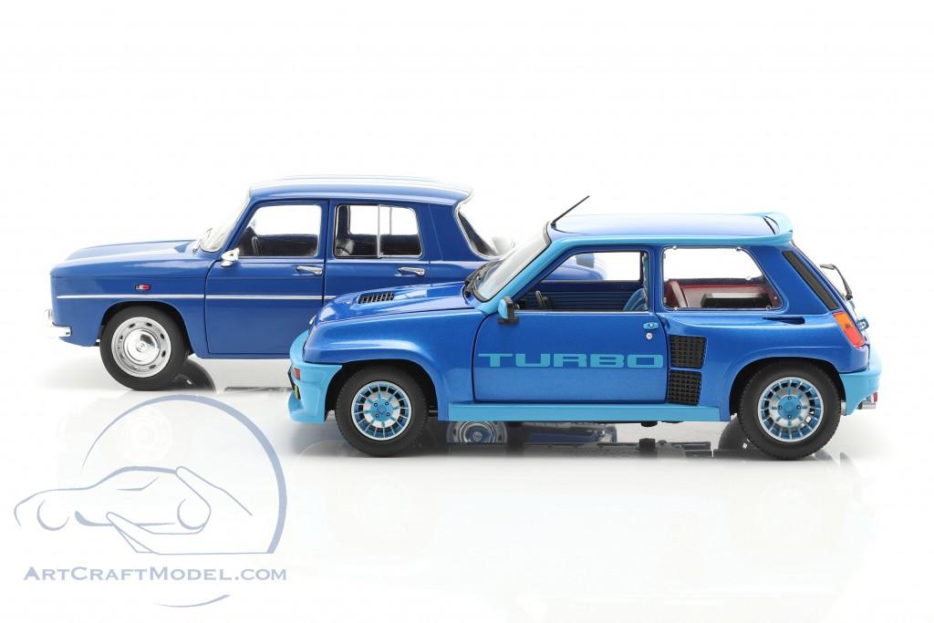 2 Car Set Renault R5 Turbo Renault R8 Gordini Blue S180005 Ean 3663506009693