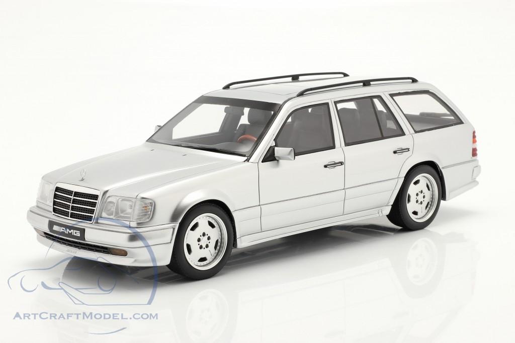 MERCEDES-BENZ S124 E36 AMG Brilliant Silver 1:18 Otto Ottomobile mit OVP