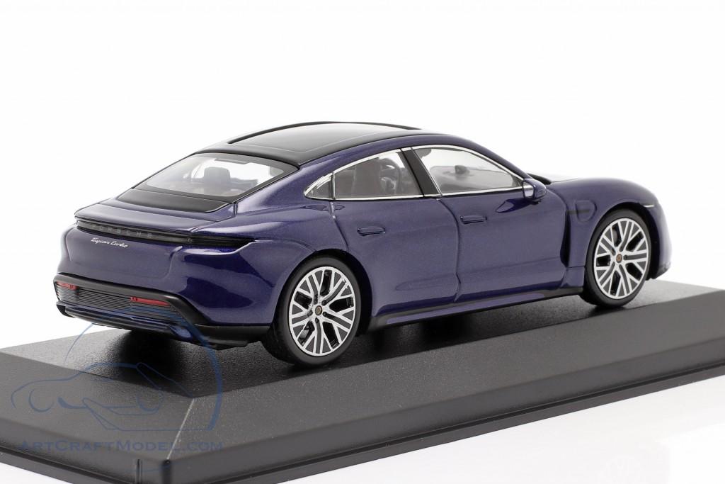 Porsche Taycan Turbo Spectrum Edition 2020 gentian blue metallic