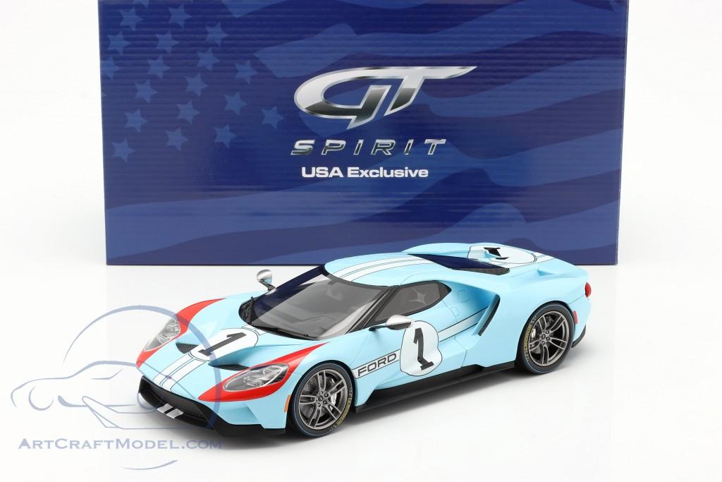Ford GT Heritage Edition 2020 #1 gulf blue / orange  GT-Spirit