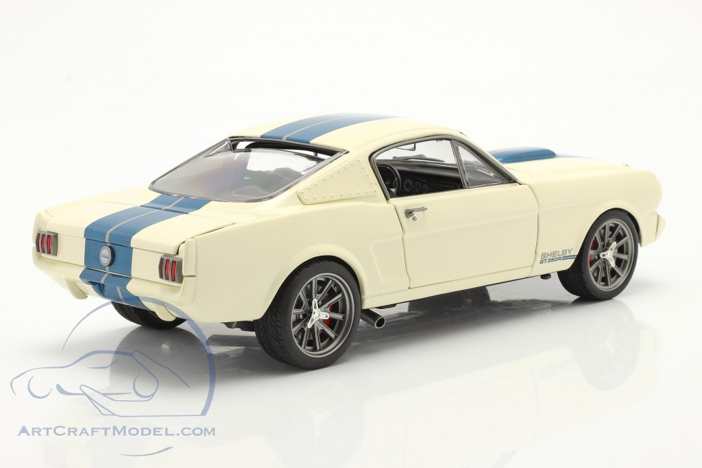 Ford Mustang Shelby GT 350R Street Fighter 1965 White / blue