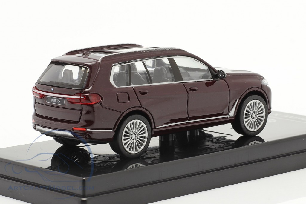 BMW X7 (G07) LHD year 2019 ametrine red metallic  Paragon Models
