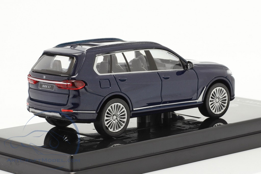 BMW X7 (G07) LHD year 2019 tanzanite blue  Paragon Models