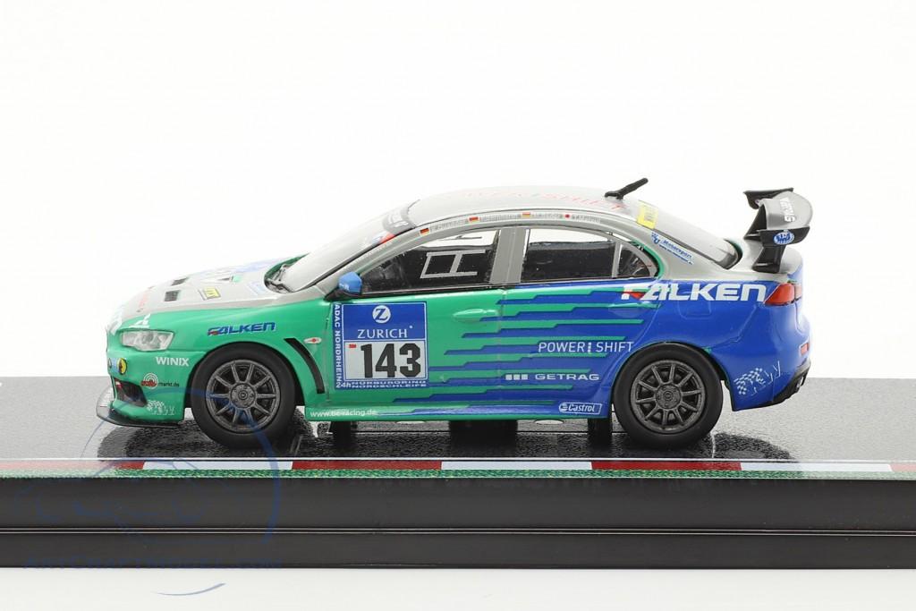 Mitsubishi Lancer Evo X #143 24h Nürburgring 2010 Falken