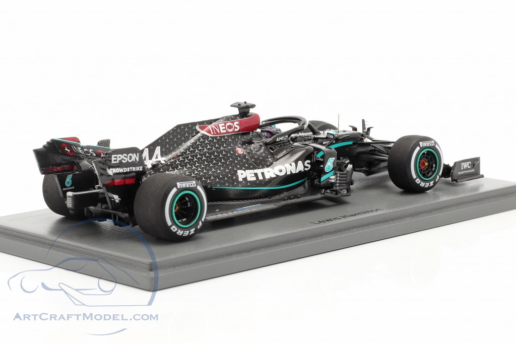L. Hamilton Mercedes-AMG F1 W11 #44 British GP F1 World Champion 2020