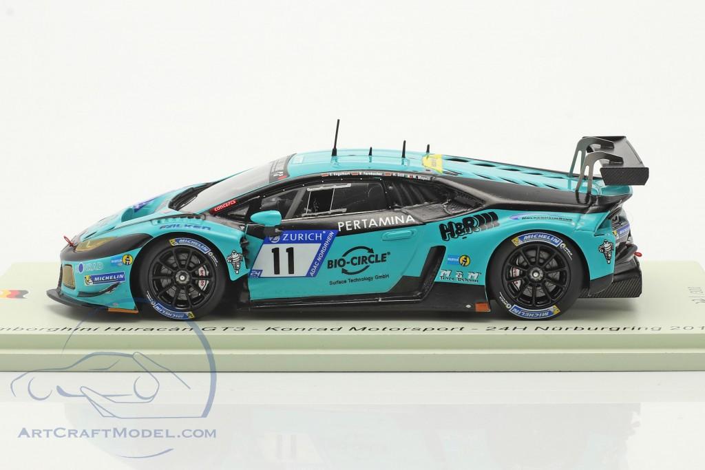 Lamborghini Huracan GT3 #11 24h Nürburgring 2017 Konrad Motorsport