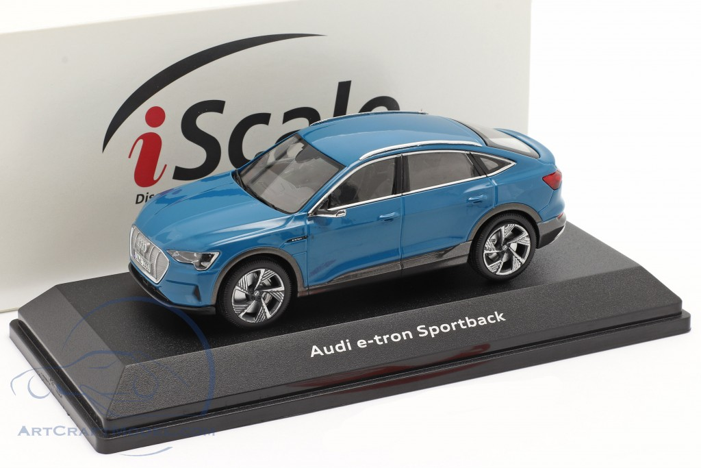 Audi e-tron Sportback year 2020 antigua blue