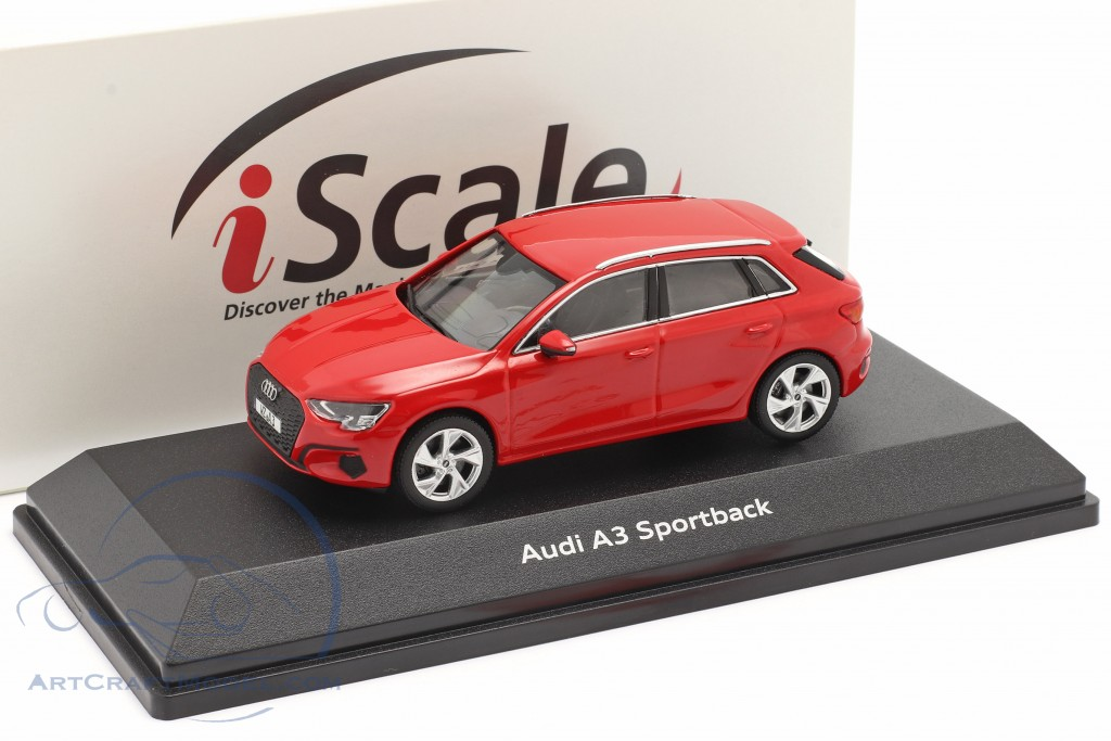 Audi A3 Sportback Baujahr 2020 tango rot