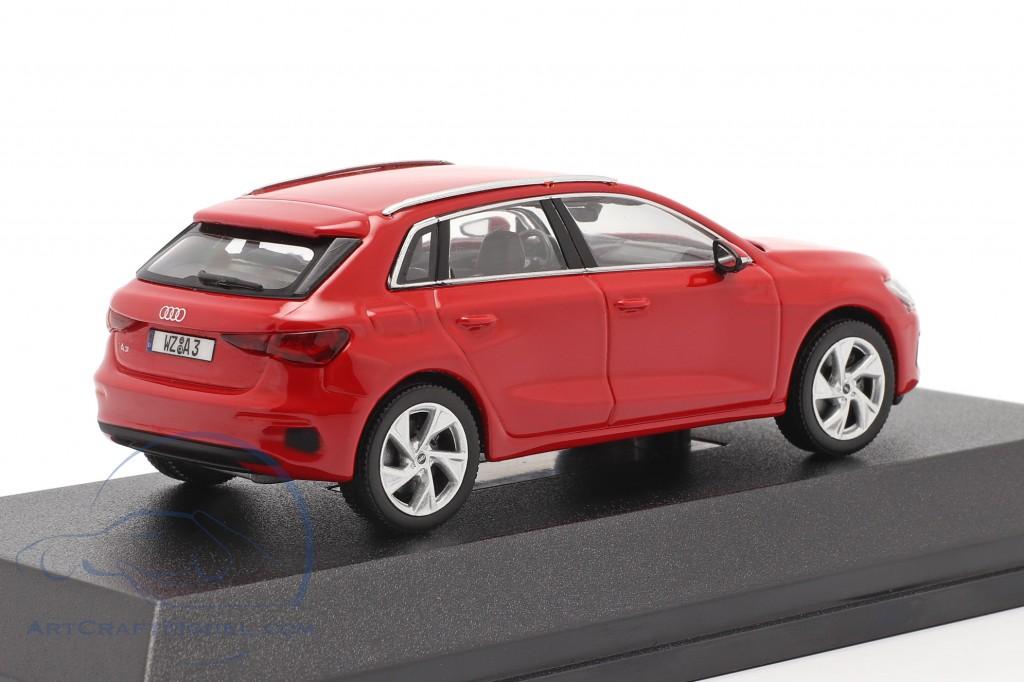Audi A3 Sportback year 2020 tango red