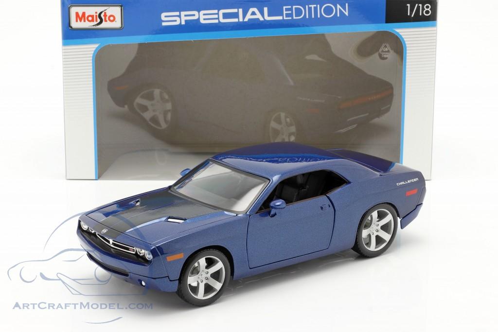 Dodge Challenger Concept Car 2006 blau metallic