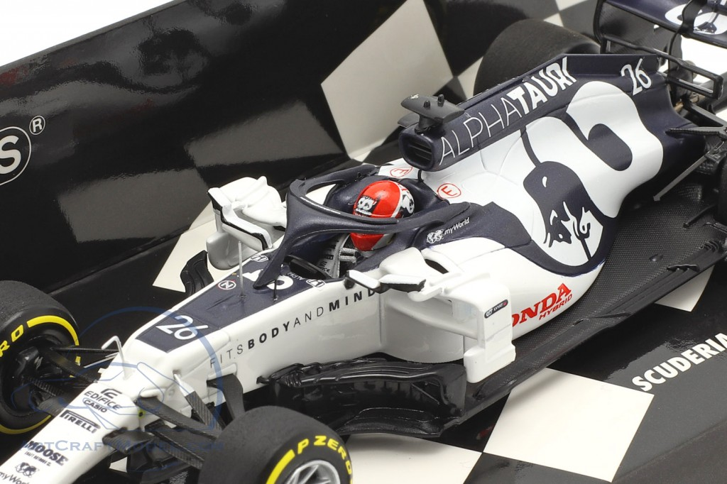 Daniil Kvyat Alpha Tauri AT01 #26 Launch Spec Formel 1 2020