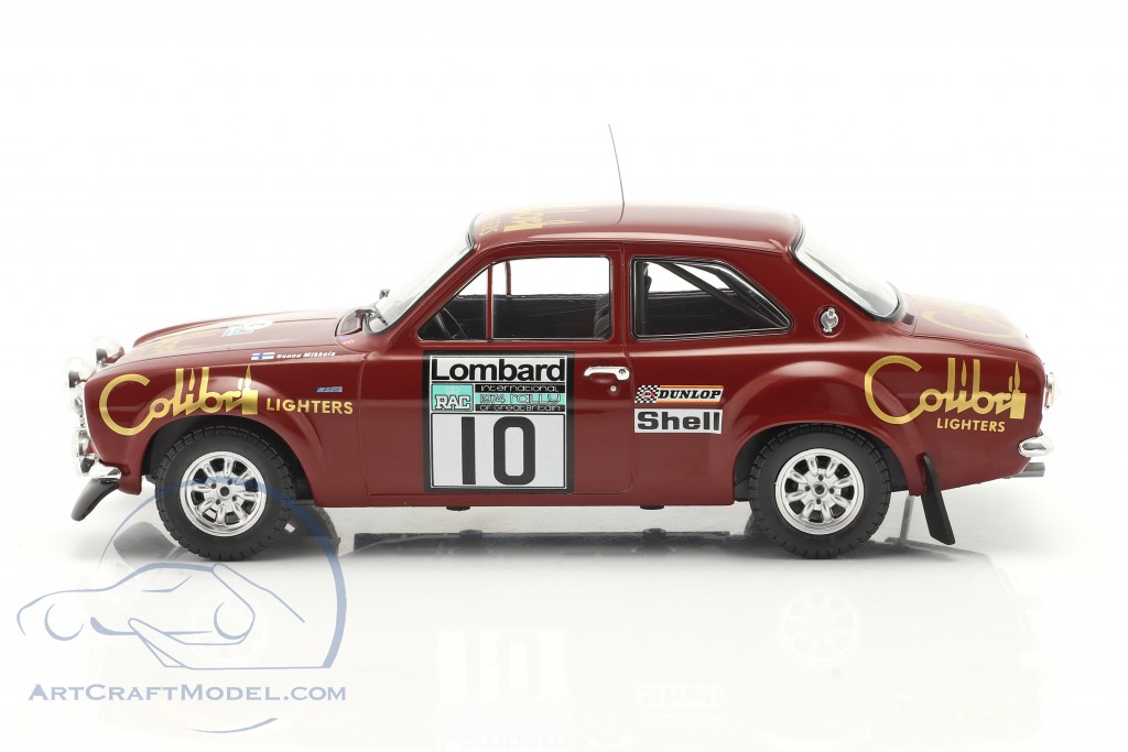 Ford Escort Mk1 RS 1600 #10 Lombard RAC Rallye 1974 Mikkola, Davenport
