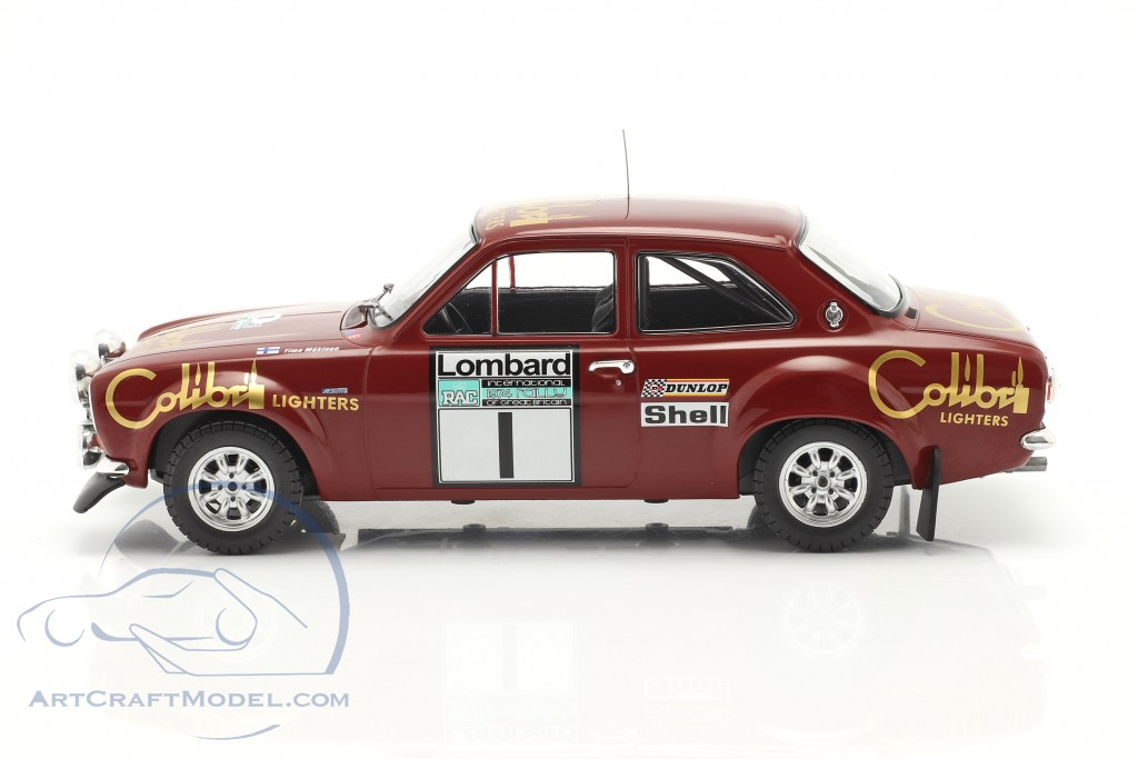 Ford Escort Mk1 RS 1600 #1 Winner Lombard RAC Rallye 1974 Mäkinen, Liddon
