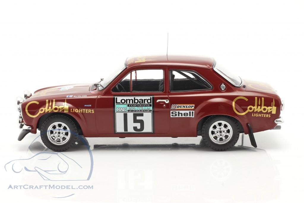 Ford Escort Mk1 RS 1600 #15 Lombard RAC Rallye 1974 Alen, White