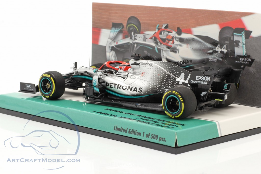 L. Hamilton Mercedes-AMG F1 W10 #44 Monaco GP F1 Weltmeister 2019