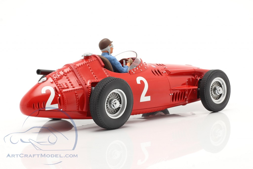 Set: Maserati 250F #2 Frankreich GP Weltmeister F1 1957 mit Fahrerfigur  CMR